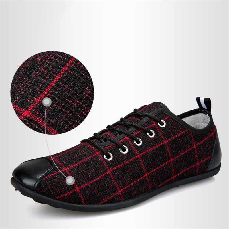 Müßiggänger Männer Casual Schuhe Wohnungen Lace-up Fahren Schuhe Mokassin Homme Formale Kleid Turnschuhe Zapatos De Hombre Mode Wohnungen comfy