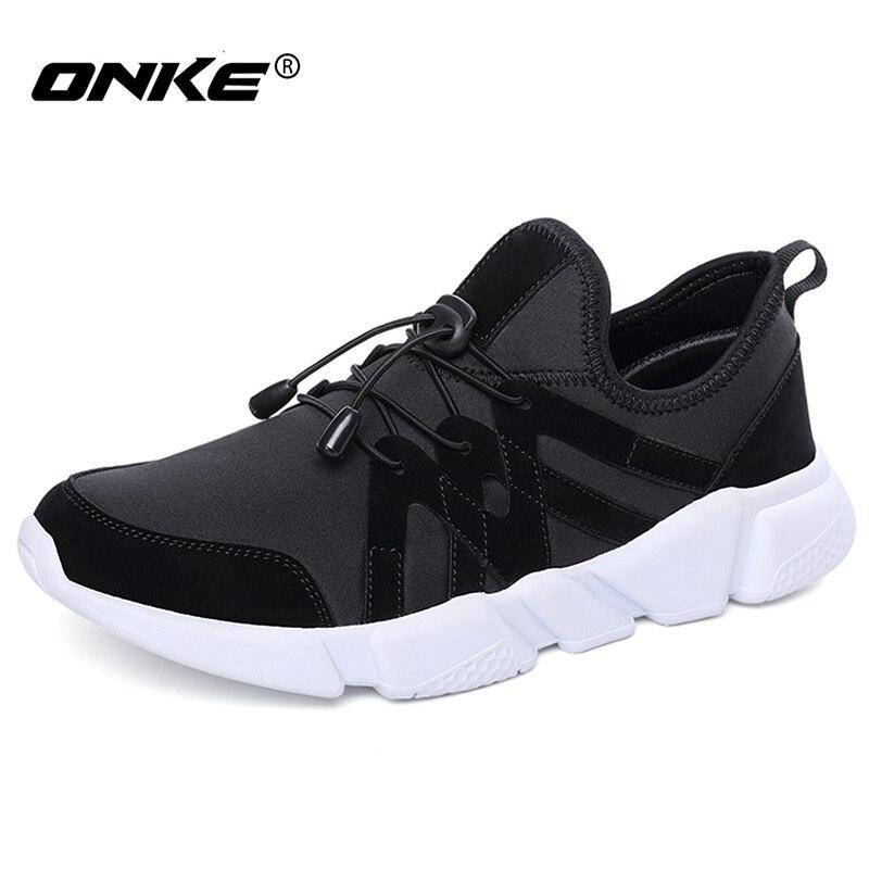 Superlight Løpesko for menn Elastisk bånd Sportssko Man Komfortabel Sneakers Outdoor Jogging Shoes Zapatillas Størrelse 39-44