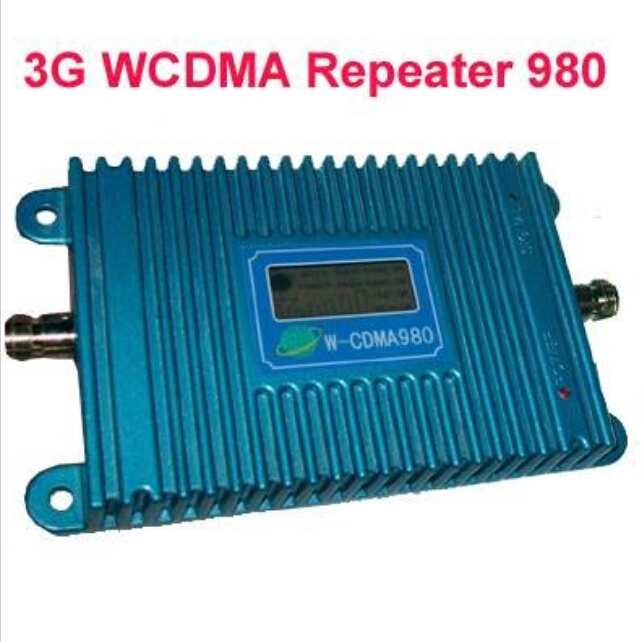 LCD Display !!! W-CDMA 980 Signal Booster WCDMA 3G Signal Amplifier 3G Mobile Phone 2100Mhz Signal Repeater + Power AdapterLCD Display !!! W-CDMA 980 Signal Booster WCDMA 3G Signal Amplifier 3G Mobile Phone 2100Mhz Signal Repeater + Power Adapter