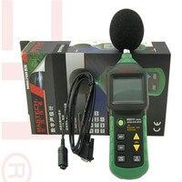 Probador de decibelios MASTECH MS6701 Medidor de nivel de sonido digital Autoranging con interfaz y software RS232  30dB a 130dB