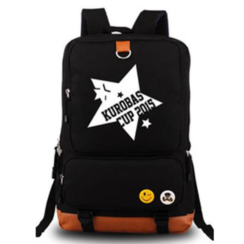 Kurokos Basketball Japan Anime Cosplay Backpacks Mens Brand Traveling Rucksack Schoolbag for Students Laptop Daypack BagsKurokos Basketball Japan Anime Cosplay Backpacks Mens Brand Traveling Rucksack Schoolbag for Students Laptop Daypack Bags