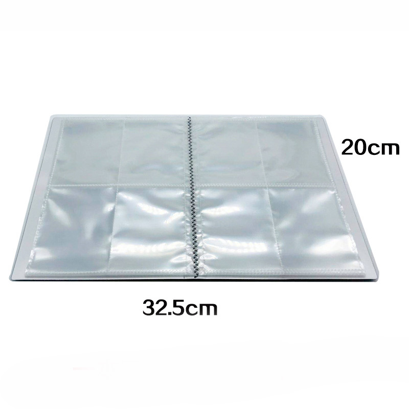 Cards Collect Capacity Cards Holder Album File For 240 pcs Cards Board Game 66*94mm Card