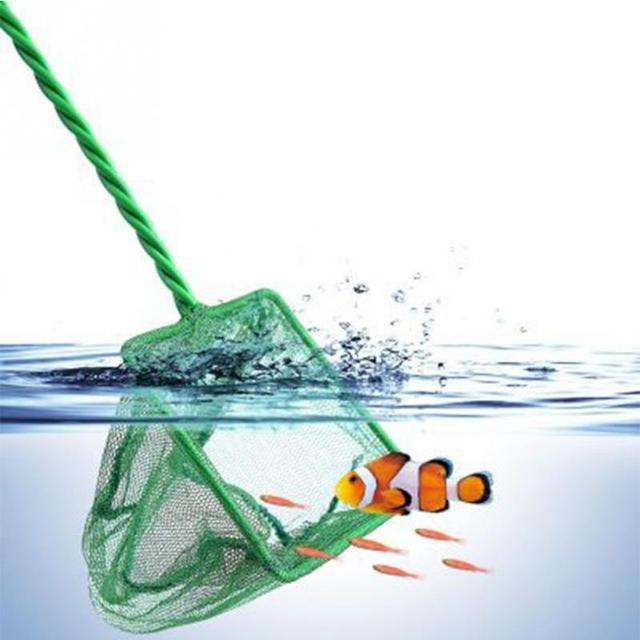 Buy new aquarium fish tank nets green for Fish tank size calculator