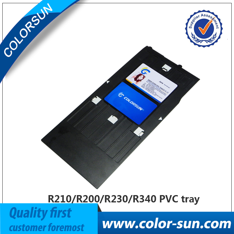 NEW PVC tray ID Card tray holder Printing tray for Epson R230 R320 ...