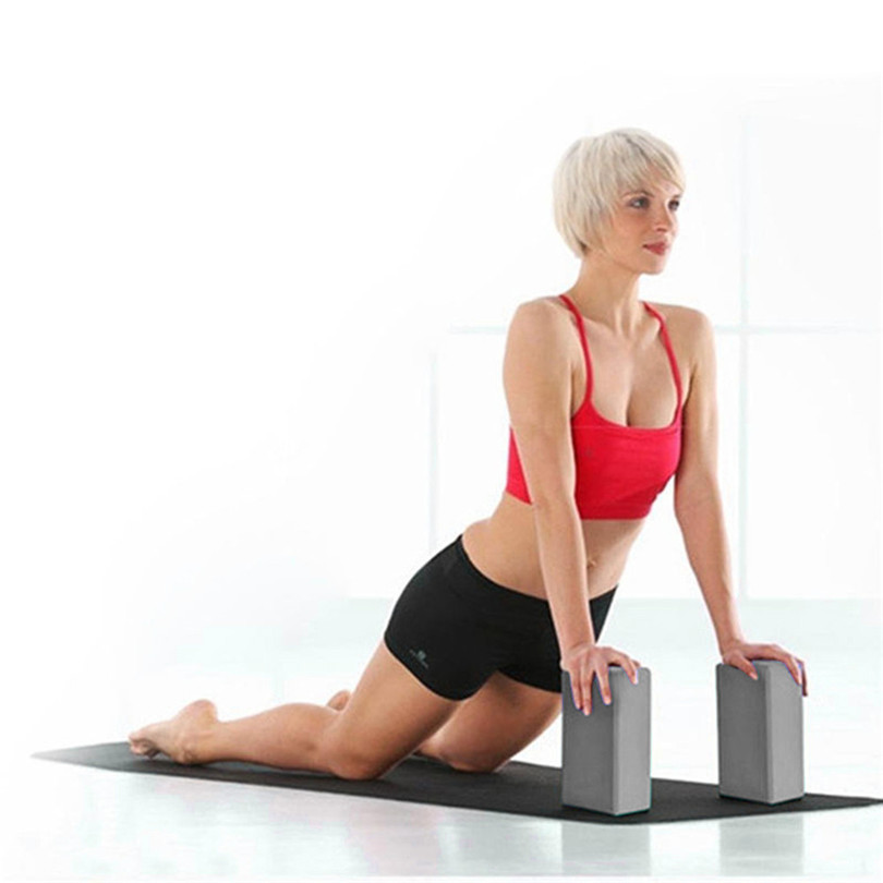 Oefening Fitness Yoga Blokken Foam Bolster Kussen Kussen Eva Gym Training Fitness Multicolor Functie Yoga Accessoires 4a Tegen Elke Prijs