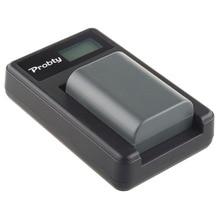 Probty NB-2LH NB 2L цифровой Батарея + ЖК-дисплей USB Зарядное устройство для Canon dc310 dc320 DC330 dc410 dc420 HV20 hg10 EOS 350D 400D