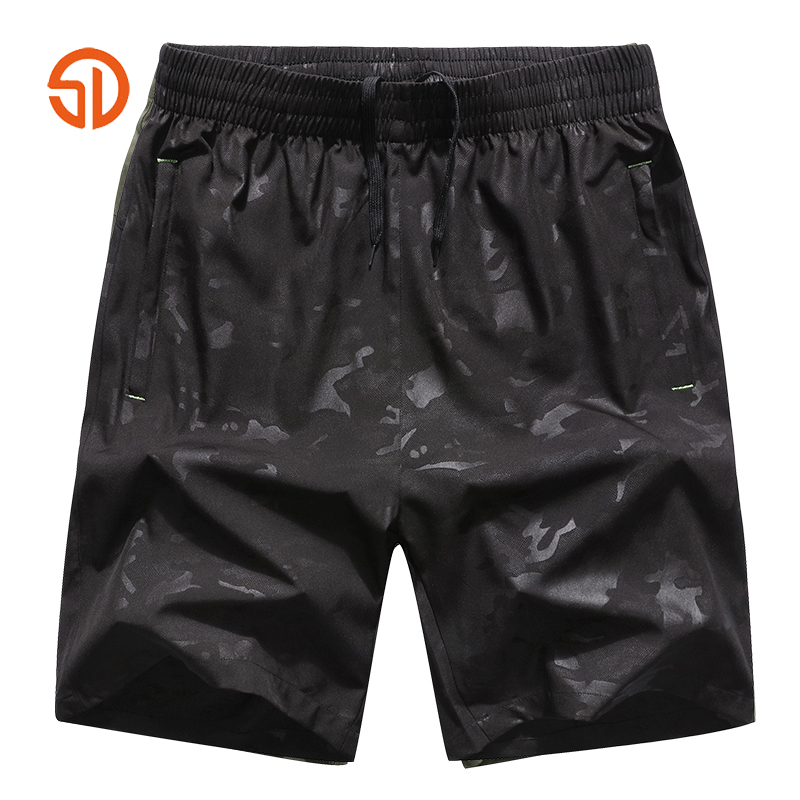 Fashion Summer Bermuda Mens Fitness Trousers Shorts Mens Quick-dry Short Plus Size L-8XL For 135KG
