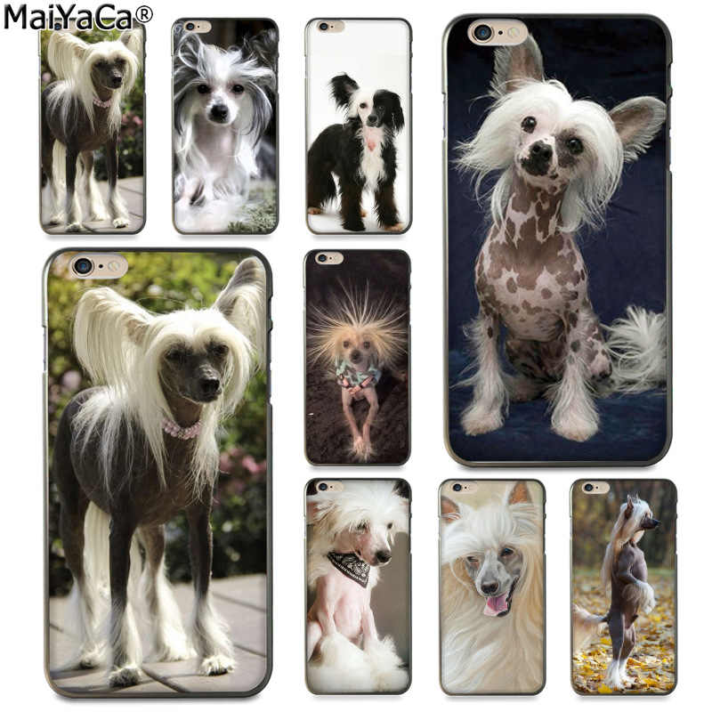 MaiYaCa Dog of breed Chinese crested New Arrival Fashion phone case cover for iphone 11 pro 8 7 66S Plus X 5S SE XS XR XS MAX
