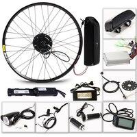 LOVAGE Электрический велосипед 36 В 350 Вт комплект для 26 27,5 29 дюймов колесный мотор Аккумулятор для чайника Светодиодный ЖК Электрический авто