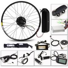 LOVAGE электрические велосипеды 36 В 350 Вт комплект для 26 «27,5» 29 «дюймов колеса двигатель Аккумулятор для чайника Светодиодный ЖК дисплей электрический автомобиль Ebike