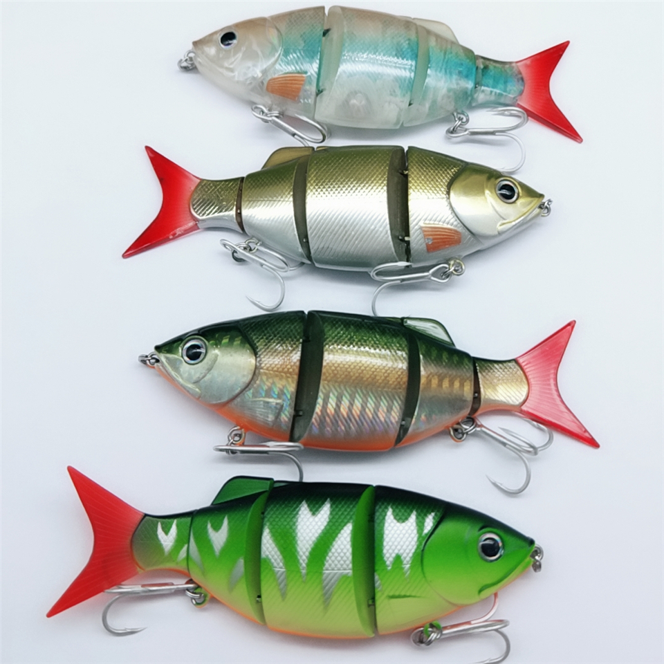 Tsurinoya 4pcs 11cm 26.6g Free Shipping Fishing Lure VIB Trout Lure Hard Swim Bait Deep Water Lure Crank Bait Fishing Tackle