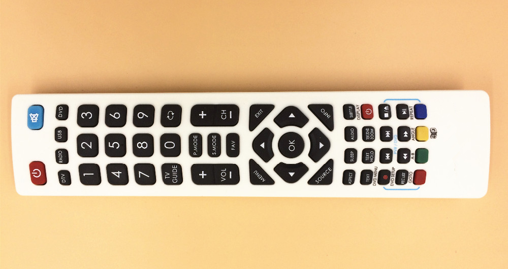 Replacement REMOTE CONTROL 398GR08BEBP00F for BLAUPUNKT Full HD LED SMART TV