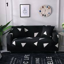 Geometric Printing Elastic Stretch All-inclusive Sofa Cover Polyester Washable Universal Furniture Slipcover for Living Room
