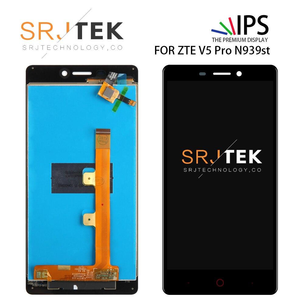 SRJTEK 5.5'' For ZTE V5 Pro N939St LCD Matrix Touch Screen Digitizer Assembly For ZTE N939Sc Weiwu 3 / V5 Pro N939St Display
