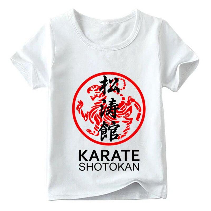 Boys/Girls Japanese Kanji Shotokan Karate Print T shirt Kids Summer Short Sleeve Tops Children Casual T-shirt,HKP718 the shotokan karate bible 2nd edition