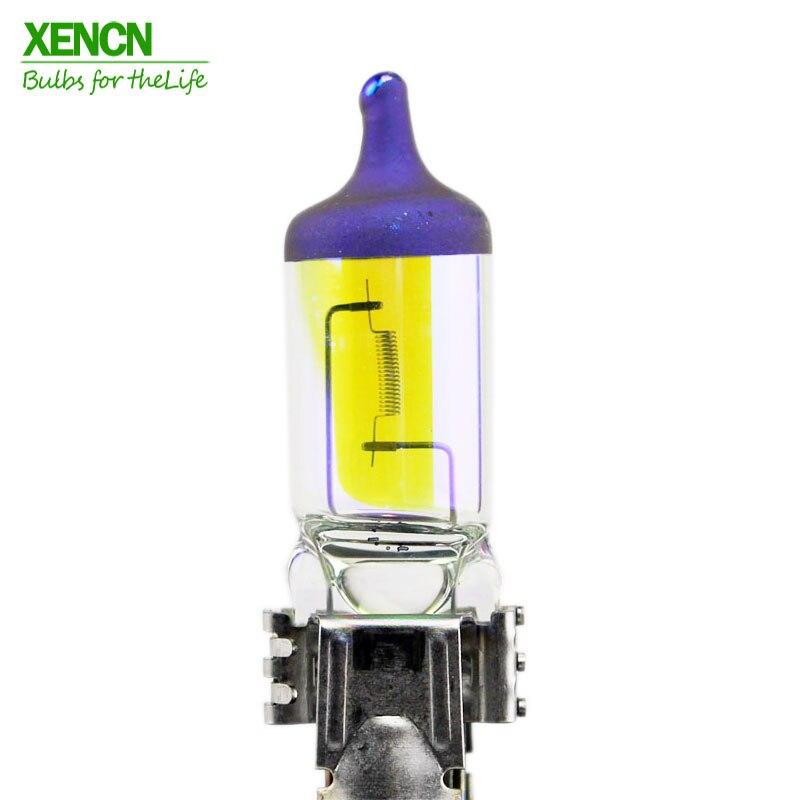XENCN 9145 H10 12V 42W PY20D 2300K Goldene Augen Super Licht Goldenen Augen Automotive Halogen Auto Lampen nebel Lampen 30% MoreLight 2 stücke