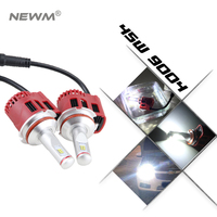 3000K 4000K 5000K 6000K 90W LED Car Headlight Conversion Light Bulbs Kit P6 High Quality H7