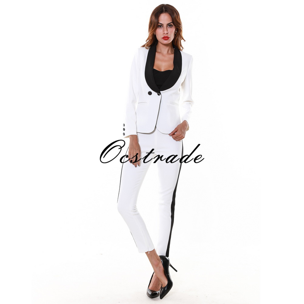 white and off white suits White is one color that is irreplaceable and has great advantages on the whole. If you are someone who loves to wear what makes you look at your best then white should not be missed out in your wardrobe collection.