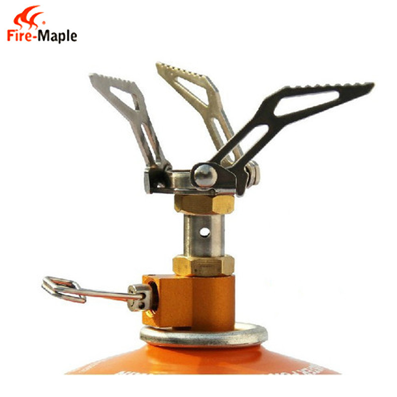 ФОТО Fire Maple FMS-300T Outdoor Camping Portable Titanium Mini Gas Stove Camping Stove 45g/2600W