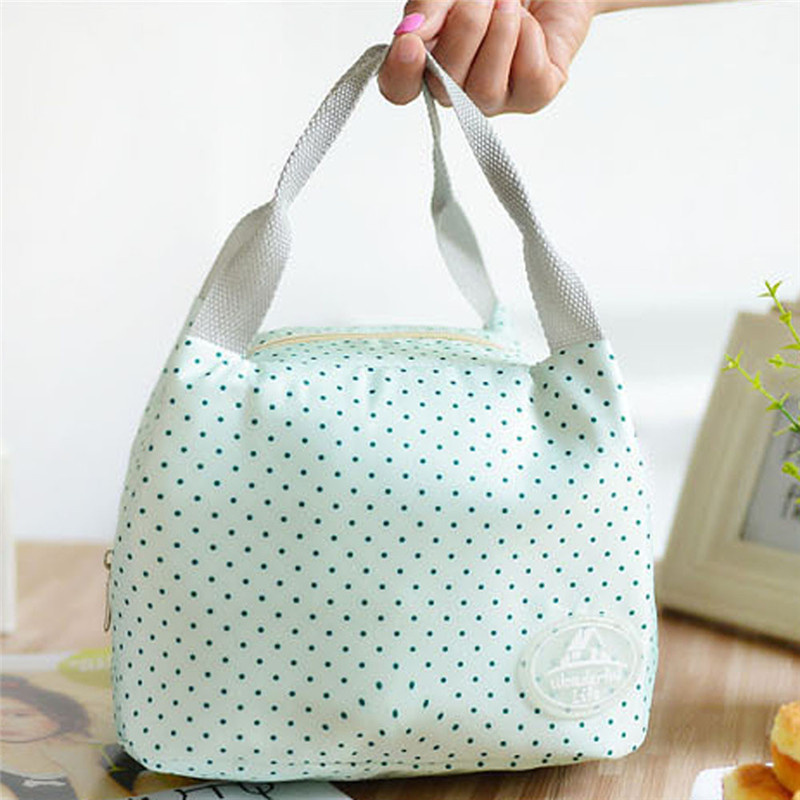 Portable Storage bags Tote Picnic Insulated Cooler Zipper Organizer Lunch Box convenient School office Food Storage Bags