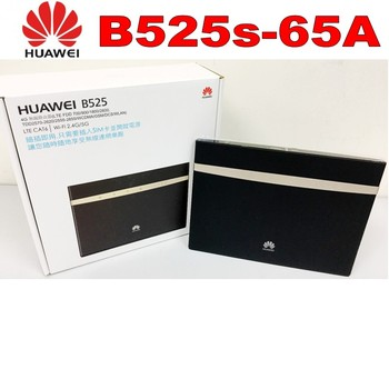 Lot of 2pcs (+2pcs antenna)Huawei B525s-65a 4G LTE Cat6 Wireless Router