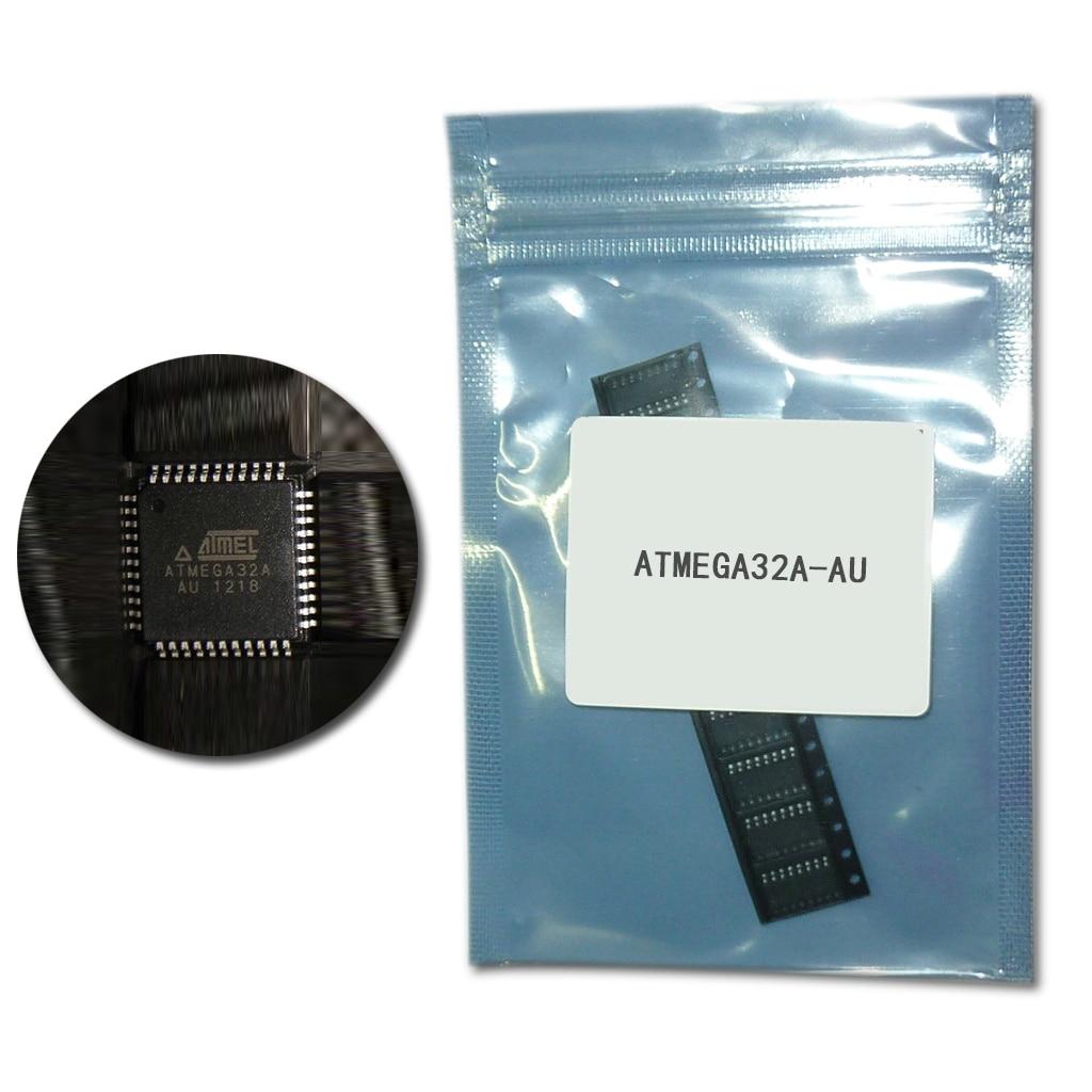 5 sztuk ATMEGA32A-AU MCU AVR 8-bitowy mikrokontroler z 32K bajtów FLASH 16MHZ 44-TQFP ATMEGA32 32A ATMEGA 32A nowy i oryginalny