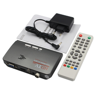2018 MTV Box Set Top Box PC Receiver Tuner External LCD CRT VGA TV Tuner HD 1080P TV BOX Speaker for HDTV Channel Gaming Control