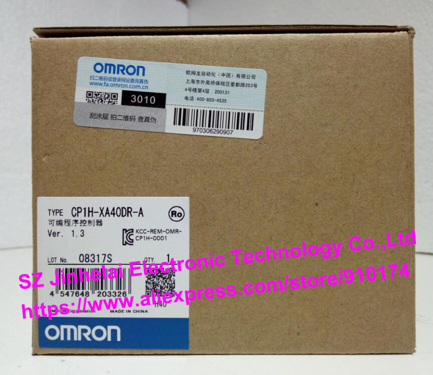 100% New and original CP1H-XA40DR-A OMRON PLC CONTROLLER [zob] 100% brand new original authentic omron omron photoelectric switch e2s q23 1m 2pcs lot