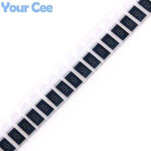 50 шт. 2512 SMD чип резистор 100 Ом 100R 101 1 Вт 5% DIY Kit