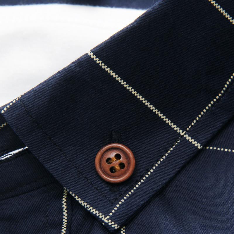 2016 מותג אופנה שמלת חולצה גברים הבגדים Slim Fit גברים שרוול ארוך חולצת אריג כותנה גברים מקרית החולצה חברתית בתוספת גודל החולצה.