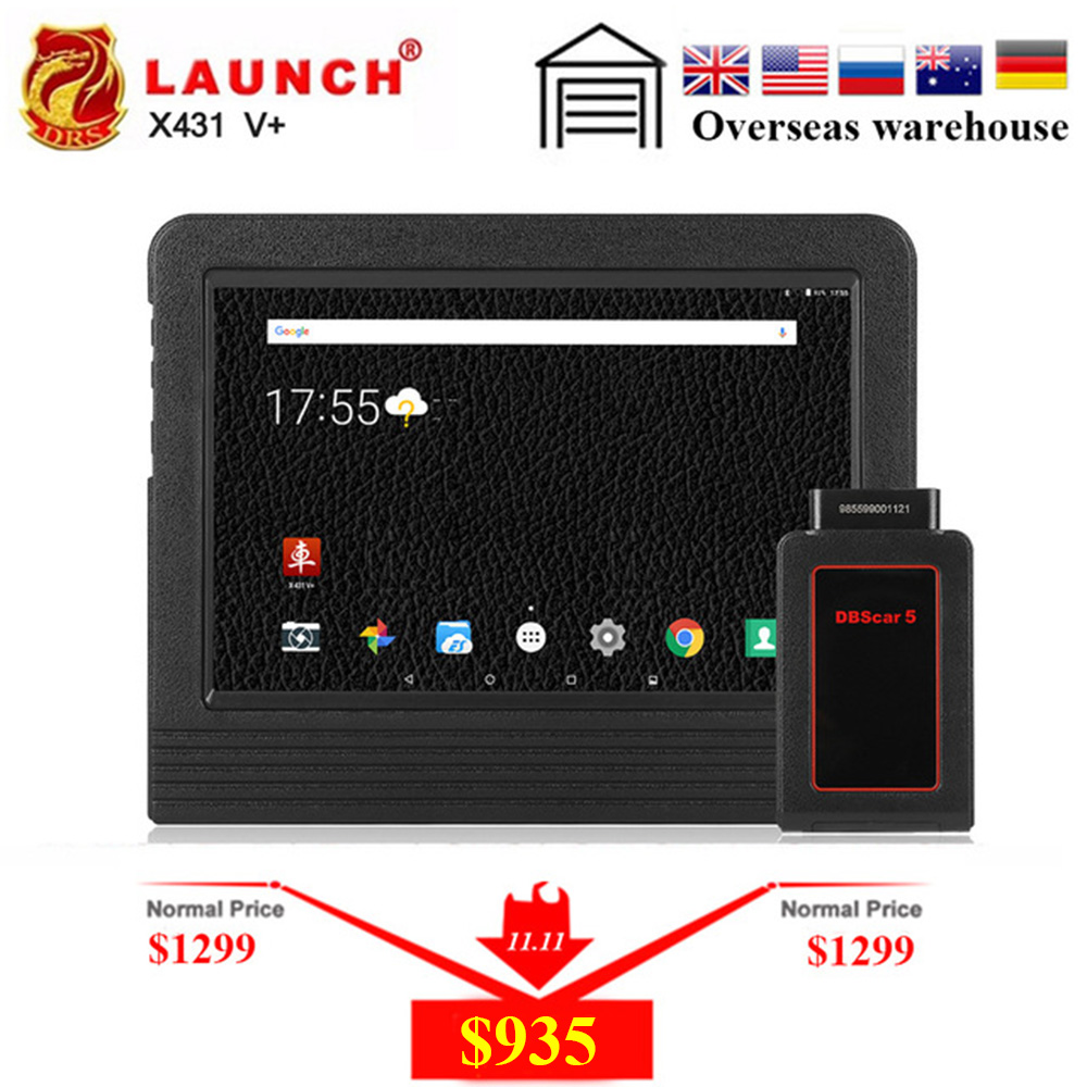 все цены на Auto Scanner Launch X431 V plus X431 pro3 OBD2 Automotive Diagnostic Tool Bluetooth Wifi Full Systems Android 7.1 Launch Scanner