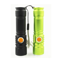 2000 Lumen USB Rechargeable Bicycle Light MTB Bike Light Zoom Flashlight Waterproof Built-in Battery Bicycle Accessories ZK50