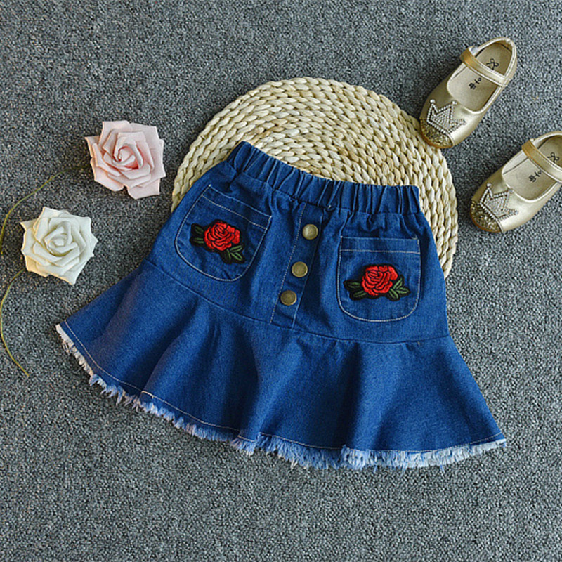 2018 casualowe zestawy ubrań dla dzieci kwiatek z krótkim rękawem - Ubrania dziecięce - Zdjęcie 5