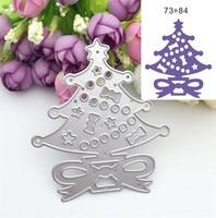 Christmas Trees Design Metal Decorative Paper Cutting Dies Template Stencils For DIY Scrapbooking Photo Album Decorative