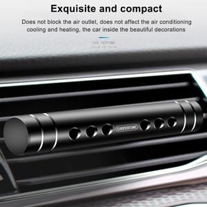 Image 3 - IKSNAIL รถน้ำหอมรถ Air Outlet ของแข็งกลิ่นหอม Sticks มินิโลหะเครื่องประดับน้ำหอมคลิป Air Freshener