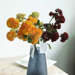 50 см искусственные цветы одуванчика Пластик как настоящие Искусственные Свадебные цветы для Домашнего Цветоводства украшения подарок ко