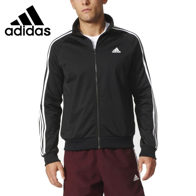 68c46c71d58 Nova Chegada Original 2018 Adidas jaqueta Sportswear dos homens ESS 3 s  TTOP TRI