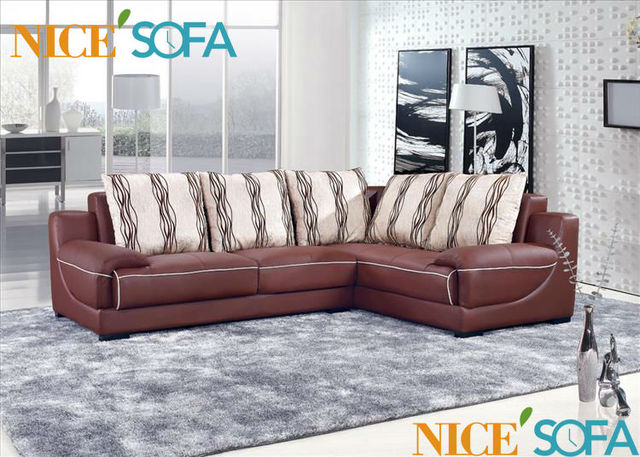 Imported Furniture China Leather Sofa Soft Couch A816L#