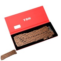 YBN 1/2''*11/128''*116L Mtb Bike Chain Hollow Bicycle Chain For SHIMANO and Sram 11 Speed Chain