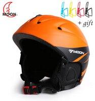 MOON 2016 Newest Style Ski Helmet Professional Skiing Sports Snow Safety Good Quality Helmet MS86