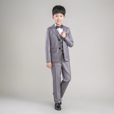 894a168cd 2018 new fashion gray baby boys suit kids blazers boy suit for weddings  prom formal spring autumn wedding dress boy suits - aliexpress.com -  imall.com