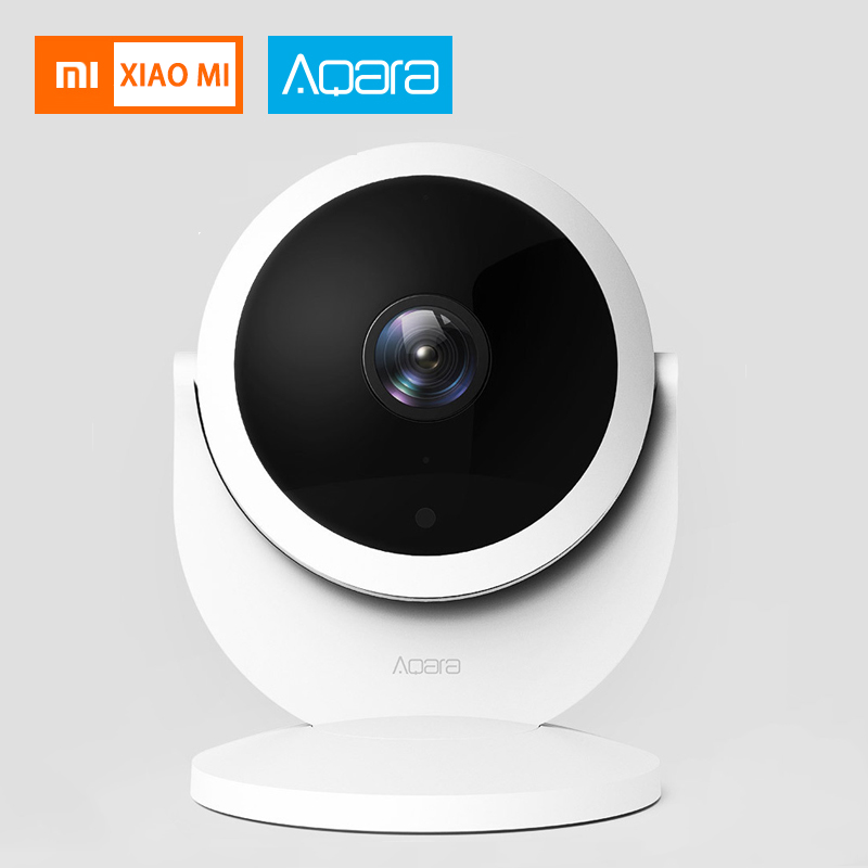 Original xiaomi aqara cam Smart Surveillance Camera Anti-theft 1080P 180 degrees view For xiaom mi home app