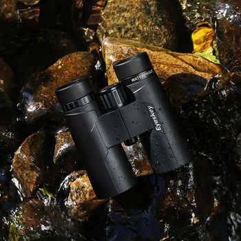 ED 8X42 Eyeskey Binoculars IPX8 Waterproof Professional Camping Hunting Telescope Zoom Bak4 Prism Optics With Binoculars Strap