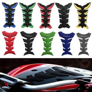 3D Motorcycle Sticker Decals Gas Oil Fuel Tank Pad Protector decal For HONDA YAMAHA KAWASAKI SUZUKI BMW KTM DUCATI BENELII(China)
