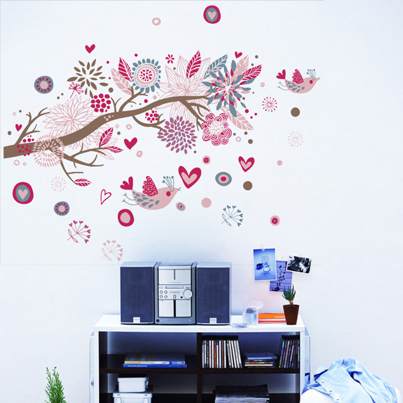 Buy bohemia style sea of dreams beautiful - Beautiful wall stickers for living room ...