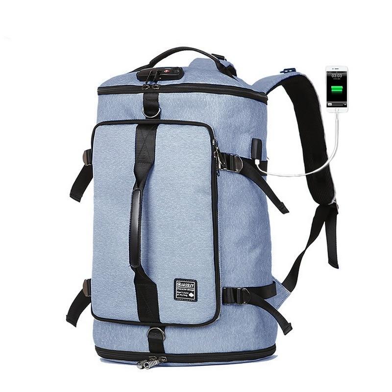 Laamei Usb Smart Backpack Men Women Large Backpack Anti Theft Men's Daypack For 17inch Laptop Bagpack Mochila Travel Back Pack