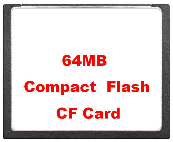 Miễn phí Vận Chuyển Công Nghiệp Nhỏ Bộ Nhớ Thẻ Gốc 64 mb Thẻ CF 64 m Thẻ Flash Nhỏ Gọn Thẻ CNC Quilter Máy FANUC
