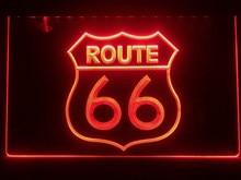 I371 rota histórica 66 mãe estrada led sinal de luz de néon