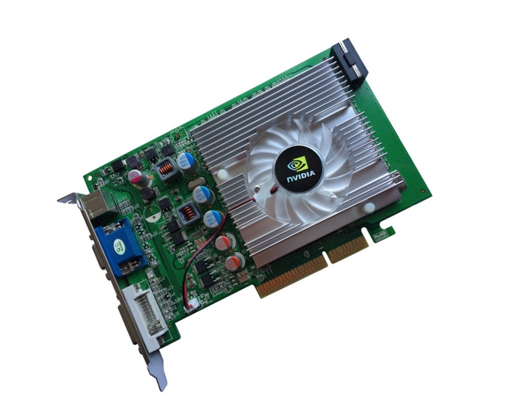 NVIDIA GeForce 6600GT 512 mb DDR2 AGP 4X 8X VGA DVI Vidéo Carte