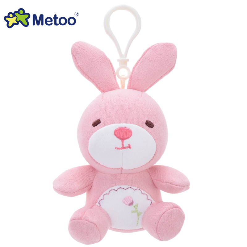 萌团吊饰-粉兔